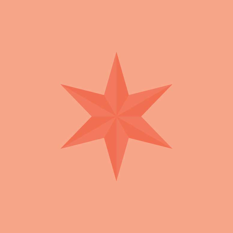 Chicago star design