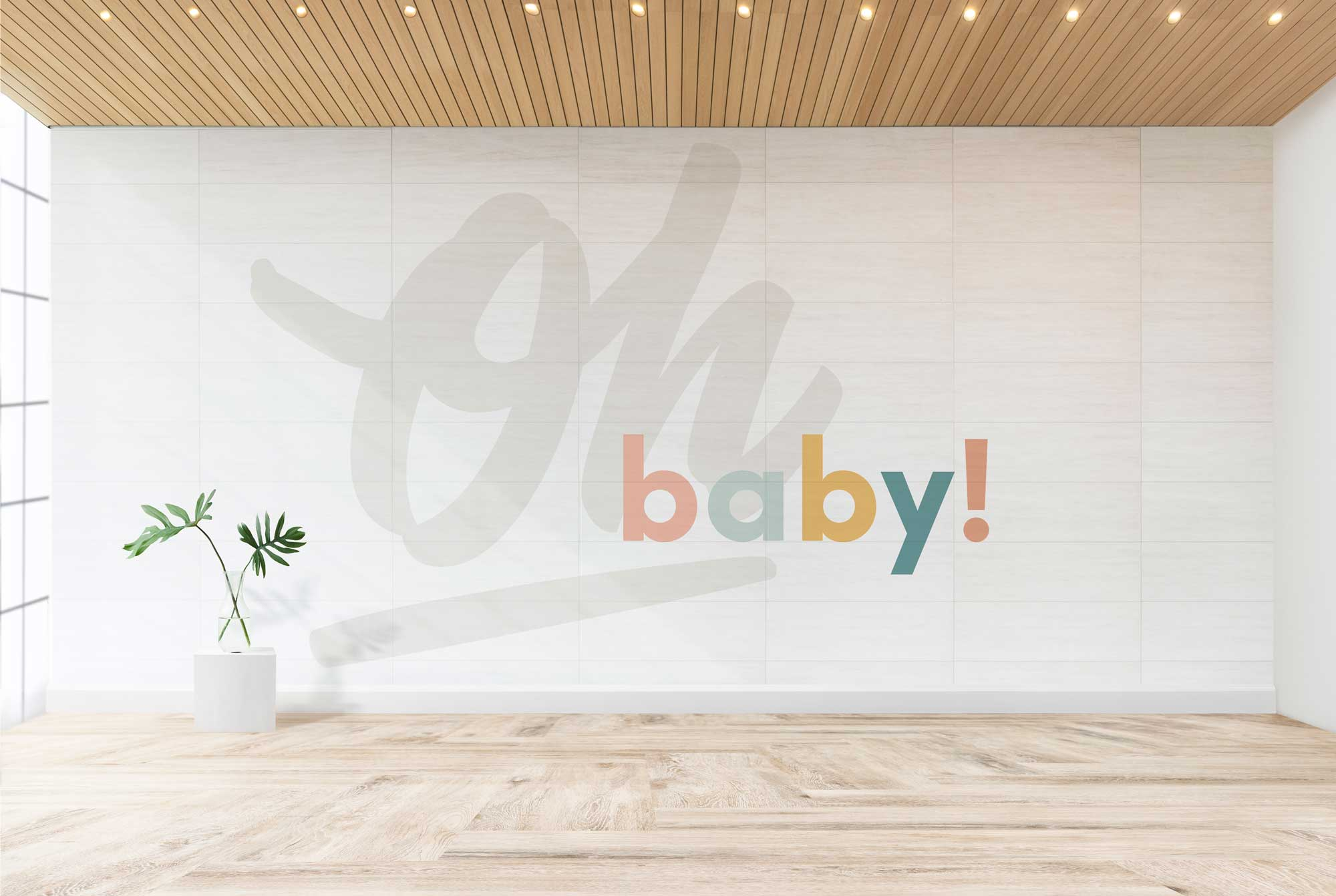 Mural design for Chicago's Third Coast Birth & Baby